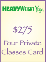 Four Private Classes Card