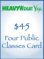 Four Public Classes Card
