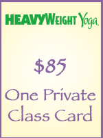 One Private Class Card