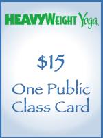 One Public Class Card