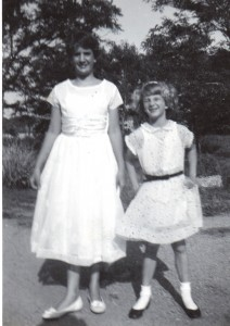Easter 1952 w/Nancy