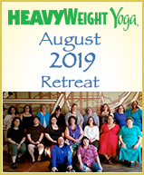 2019 HeavyWeight Yoga Women's Retreat